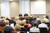 02   ES Accueil par le père Larghi, chancelier du diocèse de Reims   OTPP Oct 2016